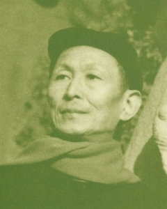 A picture of Dong Xiwen in his late years.