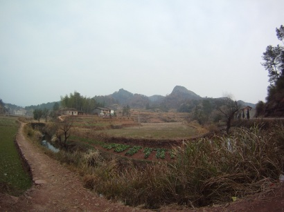 A view of the valley from Tongfan valley.