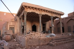 An old mosque recently on restoration