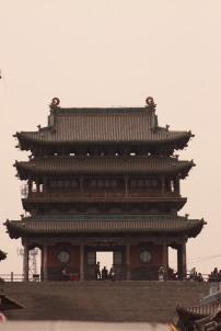 City walls Tower Pingyao