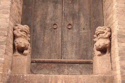 Doors Lions in Pingyao -2012