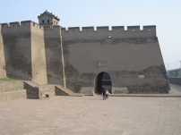 Streets in Pingyao City walls 2