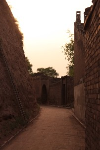 Streets in Pingyao city walls