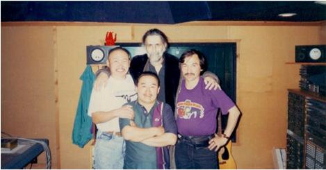 At Frank Zappa's