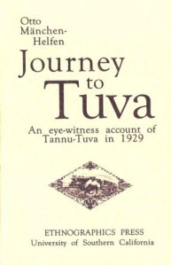 Journey to Tuva, 1929